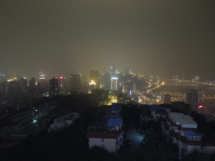 View of Jiefangbei at Night