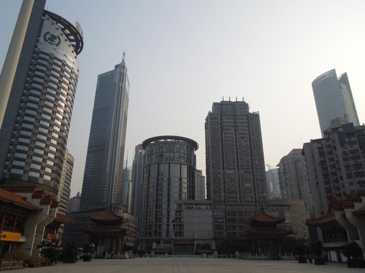 Jiefangbei by day