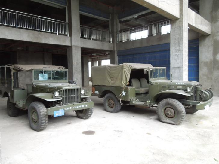Military Vehicles in Stilwell Museum